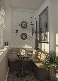 Диван и кофейный столик