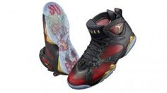 competitive price 3f782 0e5e7 Meet the Air Jordan 7 Doernbecher designed by Damien Phillips old)  diagnosed with Hemophilia A servere. Shoes inspired by a guitar and  Chicago s basketball ...