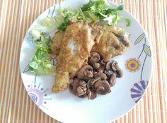 Cocinando con Evelin: Bacaladilla rebozada