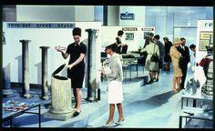 """""""PlayTime"""" de Jacques Tati, 1967"""