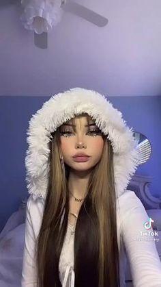Edgy Eye Makeup, Doll Eye Makeup, Unique Makeup, Skin Makeup, Cute Makeup Looks, Creative Makeup Looks, Pretty Makeup, Doll Makeup Tutorial, Makeup Inspiration