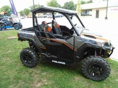 New 2017 Polaris Polaris GENERAL 1000 EPS Deluxe Tit ATVs For Sale in Michigan. 2017 POLARIS Polaris GENERAL 1000 EPS Deluxe Tit, Whether you wanna do work or go out and play, you can do both in this 2017 Polaris General 1000!!! This SxS/UTV features: a in class best 100 hp Polaris Prostar engine, electronic power steering(EPS), the Polaris on-demand true awd/2wd/versa trac turf mode, FOX performance series 2.0 podium X shocks, a 600 lb cargo box capacity, 1,500 lb hitch towing, 1,100 lb…