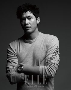 Kang Ji Hwan Elle Magazine June Issue '12