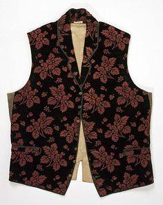 1830-1849 Waistcoat at the Metropolitan Museum of Art, New York