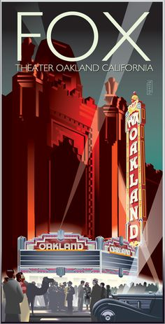 Fox Theater Oakland CA
