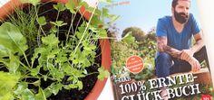 Das 100% Ernte-Glück-Buch  Praxis-Know-how für Gemüsebeet & Co. – Mit Videolinks im Buch