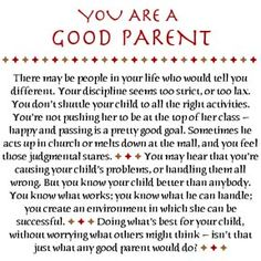quotes about being a good parent - Google Search