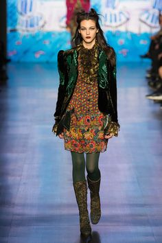 Anna Sui Fall/Winter 2017/2018
