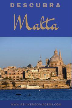 Descubra Malta, um país europeu minúsculo, mas cheio de hsitória e belezas naturais! Europa. Malta Valletta, Gap Year, Southern Europe, Wanderlust, Explore, Italy, Descubra, Places To Visit, Tourism