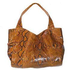 Genuine Python Snakeskin Handbag/Purse