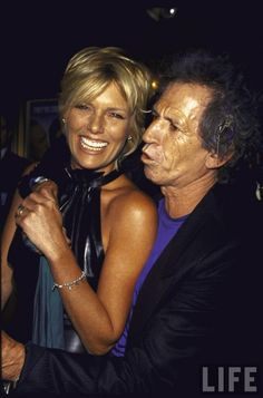 Patti and Keith Alexandra Richards, Mick Jagger Rolling Stones, Patti Hansen, Marianne Faithfull, Greatest Rock Bands, King Richard, Great Hairstyles, Famous Couples, Keith Richards