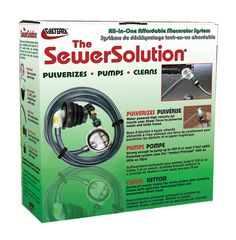 """The All-In-One AFFORDABLE Macerator System (1/3 the price of electric macerator systems plus no installation cost!) PULVERIZES: Water powered high velocity jet nozzle uses Shear Force to pulverize waste and toilet tissue PUMPS: Strong enough to pump up to 100 ft. or even 3 feet uphill. Patented system uses the """"Venturi Principal"""" with as little …"""