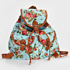B2S - Shabby Chic Backpack in Blue