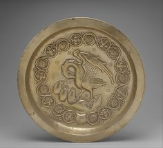 Plate with Pelican in her Piety Date: 15th century Geography: Made in Dinant or Malines, Netherlands Culture: Netherlandish