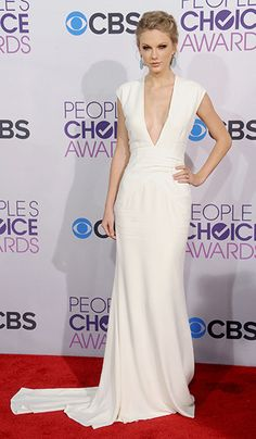 Taylor Swift in Ralph Lauren Collection - People's Choice Awards