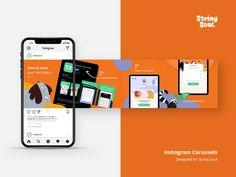 Post Design, Web Design, Dashboard Design Template, Facebook Carousel Ads, Social Media Page Design, Carousel Designs, Layout, Instagram Post Template, Instagram Design