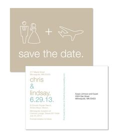 Destination Wedding Save the Date