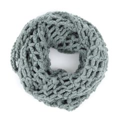 "Do you like this one, Court? Sole Society ""Cutout Knit Infinity Scarf"", $29.95"