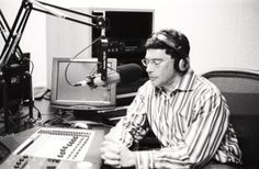 "Me doing my ""Intelligent Medicine"" radio program"