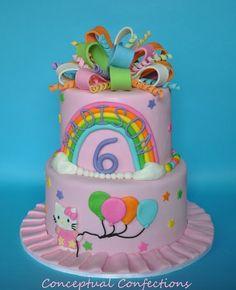 Birthday Cake: Hello Kitty Cakes
