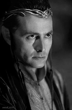 David Tennant will be playing Thranduil in The Hobbit.... what?!?!?!