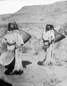 Paiute woman - 1873: