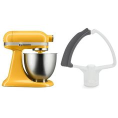 KitchenAid KSM3311XBF Artisan Mini with Flex Edge Beater Orange Sorbet 35 Quart *** Find out more about the great product at the image link. (This is an affiliate link)