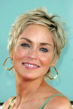 sharon stone hairstyles | Hairstyles Gallery - HairBoutique.com Image 7677