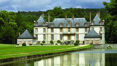 Château de Bourron - Seine-et-Marne, Paris, Île de France ~Grand Mansions, Castles & Luxury Homes