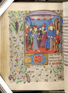Book of Hours, MS M.84 fol. 59v - Images from Medieval and Renaissance Manuscripts - The Morgan Library & Museum