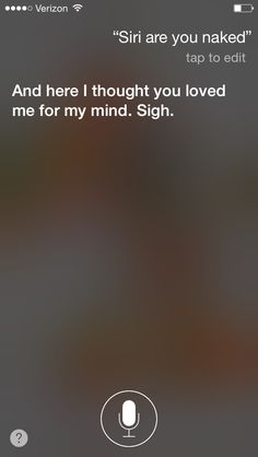 My convo with Siri 4