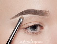 Правильная форма бровей. Какая она? Основные правила моделирования бровей.   Soul-Makeup