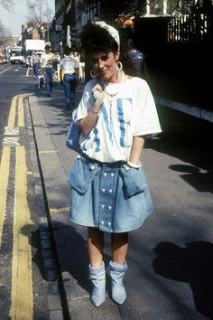 In Photos: The Best of '80s Fashion  - http://HarpersBAZAAR.com