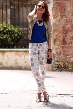 Pantalones capri y maxicollar… | DShopping | Agrega tu blog de moda