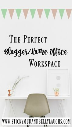 I am in the middle of planning my new workspace, so I have been searching for lots of different home office ideas. Here's what I decided on!