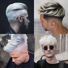 Bleached Hair For Men