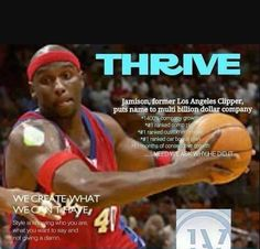 Yes! Professional athletes Thrive! DIAL IN and listen to Harold Jamison share his Thrive experience! Yes! A professional player! Thriver!  Playback Number!  1-712-432-1085  recorded call!  PIN 821163#  #thrive is #Changing lives!! https://txthriven.le-vel.com