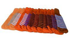 Orange Golf Club Headcovers   #golfheadcover #knittedheadcover #peanutsandgolf #madeinamerica #clubsocks