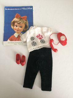 Set~SUNDAY BEST~DressHat+Pants 1964 VINTAGE TOPPER TOYS~*PENNY BRITE*~RARE 4 Pc