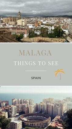 #MalagaSpain is a lovely coastal city with a lot to see. Here are a few places one shouldn't miss. #Travel #TravelSpain #TravelMalaga #TravelEurope #MalagaThingsToSee European Travel Tips, European Vacation, Europe Travel Guide, Europe Destinations, Portugal Travel, Spain And Portugal, Spain Travel, Travel Pictures, Travel Photos