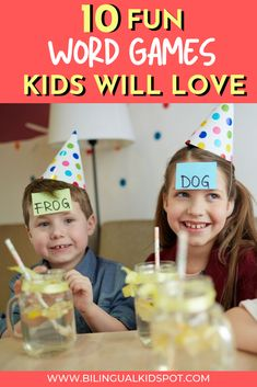 10 English Word Games for Kids – Fun Vocabulary Games