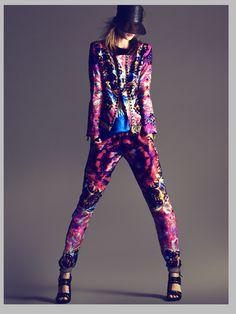 Model: Kasia Struss  Photographer: Nico  Stylist: Juan Cebrián