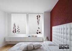 Ikea, Interior Design, Bedroom, Home Decor, Php, Model, Vertical Blinds Cover, Modern Curtains, Windows