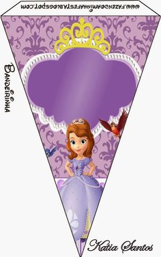 Sweet Sofia the First: Free Party Printables. Princess Sofia Party, Princess Theme Birthday, Sofia The First Birthday Party, Girl Birthday Themes, Kids Party Themes, 3rd Birthday Parties, Party Printables, Easter Printables, Beatles Party