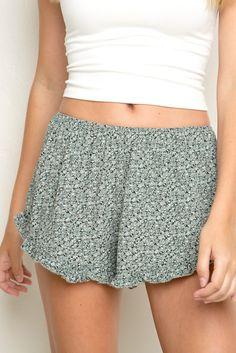 Red flowy brandy Melville shorts | Brandy melville shorts, Brandy ...