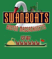 Swanboats? This is the first thing I think of because it's what impressed me as a kid. Also, it's in E.B. White's Trumpet of the Swan.