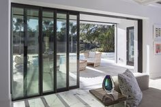 Patio Doors: 4 Steps to Choosing the Best Patio Door Sliding Patio Doors, Door Makeover, Patio Design, Building A House, Gazebo, Architecture Design, Windows, Door Ideas, Glass Panels