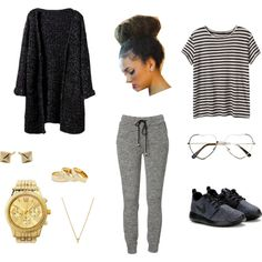 """College Outfit 2"" by niomi-crowder on Polyvore"