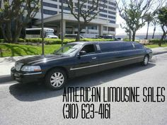 2005 LINCOLN Town Car Black 120-inch 10 Pass. Limousine #1022 - $25995   Please visit our website at: Americanlimousinesales.com