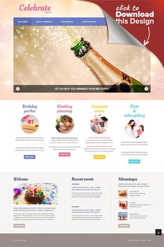 Event Planner Responsive Joomla Template CMS & Blog Templates, Joomla Templates, Entertainment, Games & Nightlife, Entertainment Templates, Event Planner Templates